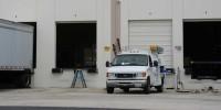 dock levelers, warehouse doors