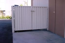 Custom Made Trash Enclosure for Medical Company