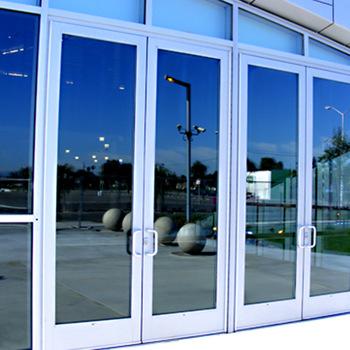 Glass/Aluminum Doors Repair and Installation | Barr Commercial Doors Orange County San Bernardino Riverside